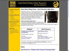 East-West Wing Chun: San Francisco