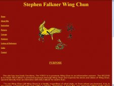 Stephen Falkner Wing Chun