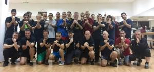 WSL VT club Beimo with sifu David Peterson