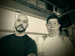 Chris Kellner with Eric Li