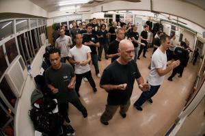 Chi Sau Club training in Hong Kong