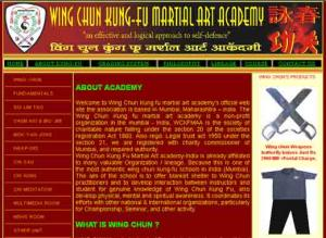 Wing Chun Kung Fu Martial Art Academy -India
