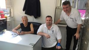 Ip Chun, Sean Mann, Colin Ward