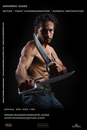 Andrew Dasz: Actor, Fight Choreographer & Ving Tsun Instructor
