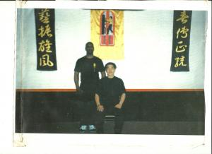 Sifu Darby with Grandmaster William Cheung 1999