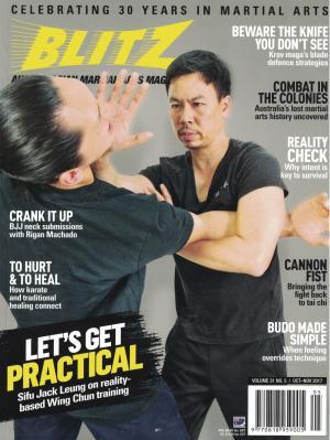 Sifu Jack Leung Practical Wing Chun Blitz Magazine