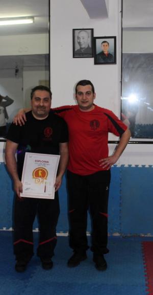 Sifu İhsan, Sifu Dimitrios DVT Dynamic Ving Tshun, Elite Temple