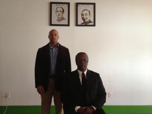 Sifu Holland and Si Gung Evans
