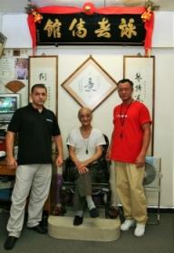 GM. Chow Tze Chuen, GM. Stephen Chan and Sifu Oleg Sultanov