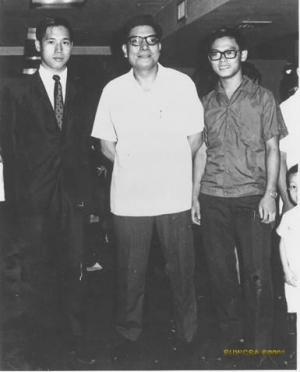 Kenneth Chung, Leung sheung, Don Chan