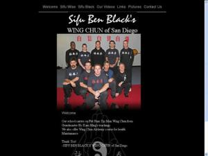 Sifu Ben Black's Wing Chun of San Diego