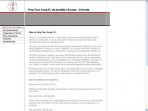 Ving Tsun Kung Fu Association Europe