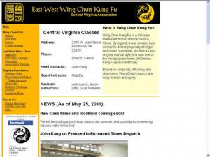 East-West Wing Chun: Richmond
