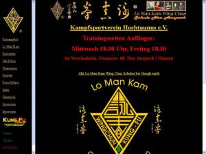 Lo Man Kam Wing Chun Kung Fu Association