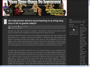 RGV Wing Chun Kung Fu Academy