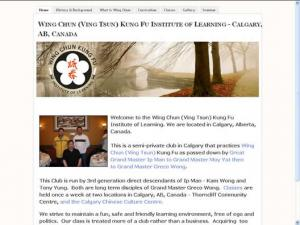 Wing Chun (Ving Tsun) Kung Fu Institute of Learning