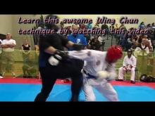 Embedded thumbnail for Killer Wing Chun larp sao technique used in karate tournament & good for street fights