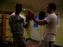 Embedded thumbnail for Wing Chun Focus Pads Training - Taan Da Exercise