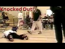 Embedded thumbnail for Karate man KNOCKED OUT cold like a street fight with Wing Chun move by Sifu Arnett & demonstrated