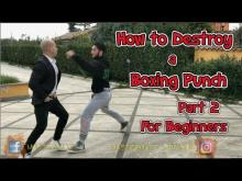 Embedded thumbnail for How to Destroy a Boxing Punch for Beginners Part 2 -Wan Kam Leung Practical Wing Chun